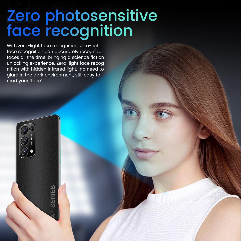 Celular Reno5 Pro Smartphone 7.3 Inch 1GB+8GB  5000mAh Cellphone Dual SIM Card Fingerprint  Unlocked  Undefined  Mobile Phones enlarge