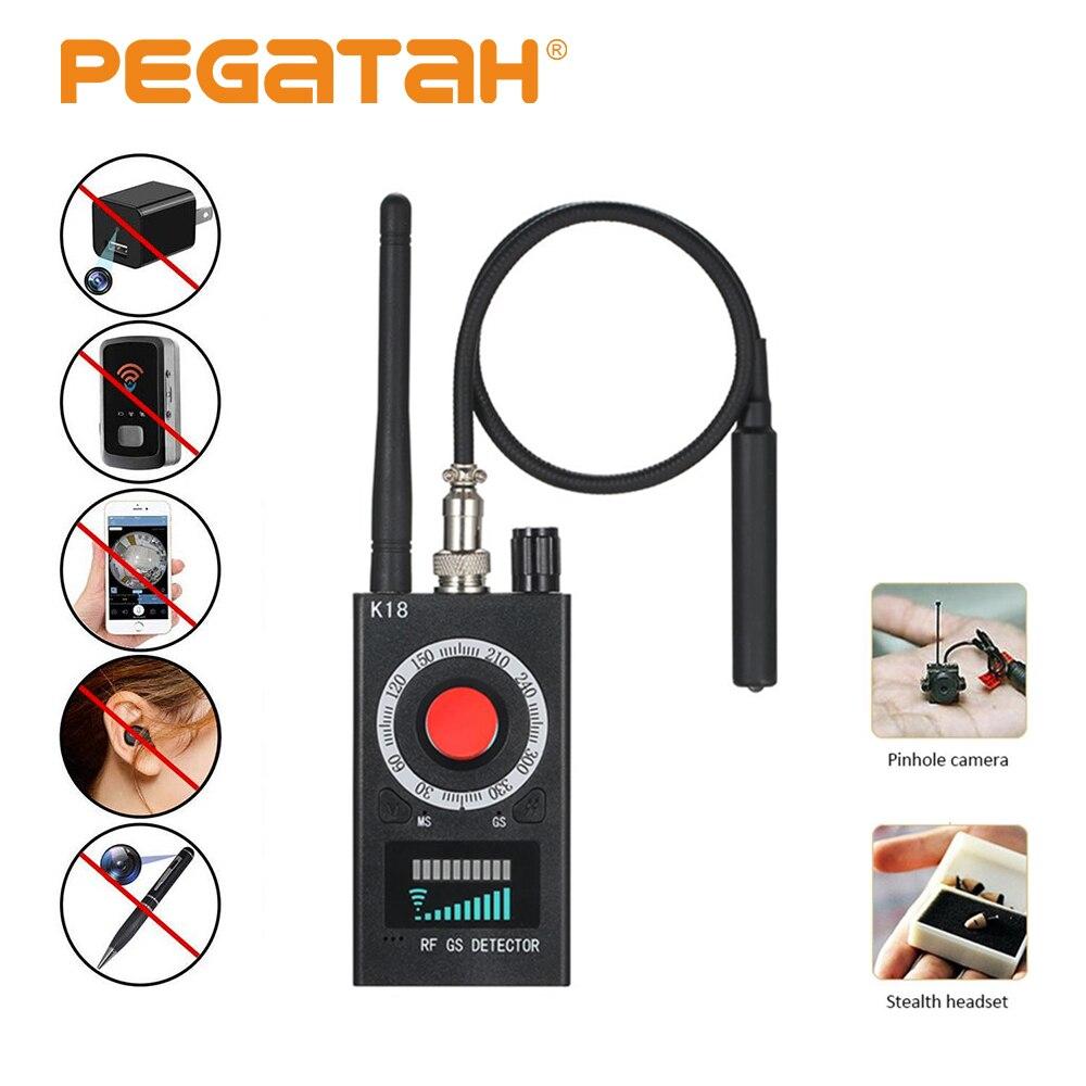 Anti Candid Detector Camera Mini Security Alarm gadget Wiretaping bug camaras espias escondidas Anti