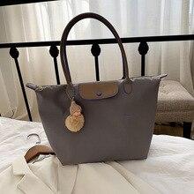 Ladies handbags luxury shopping bags luxury bags women shoulder bags Oxford shoulder bags solid colo