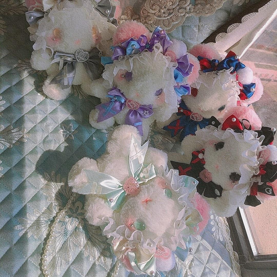 الأصلي اليدوية لوليتا القط أفخم دمية وحقيبة أرنب الدب حقيبة JK أرنب الحلو لينة فتاة