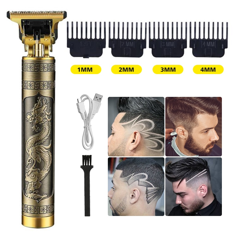 New Electric Hair Clipper Hair Trimmer For Men Rechargeable Electric Shaver Beard Barber Hair Cuttin