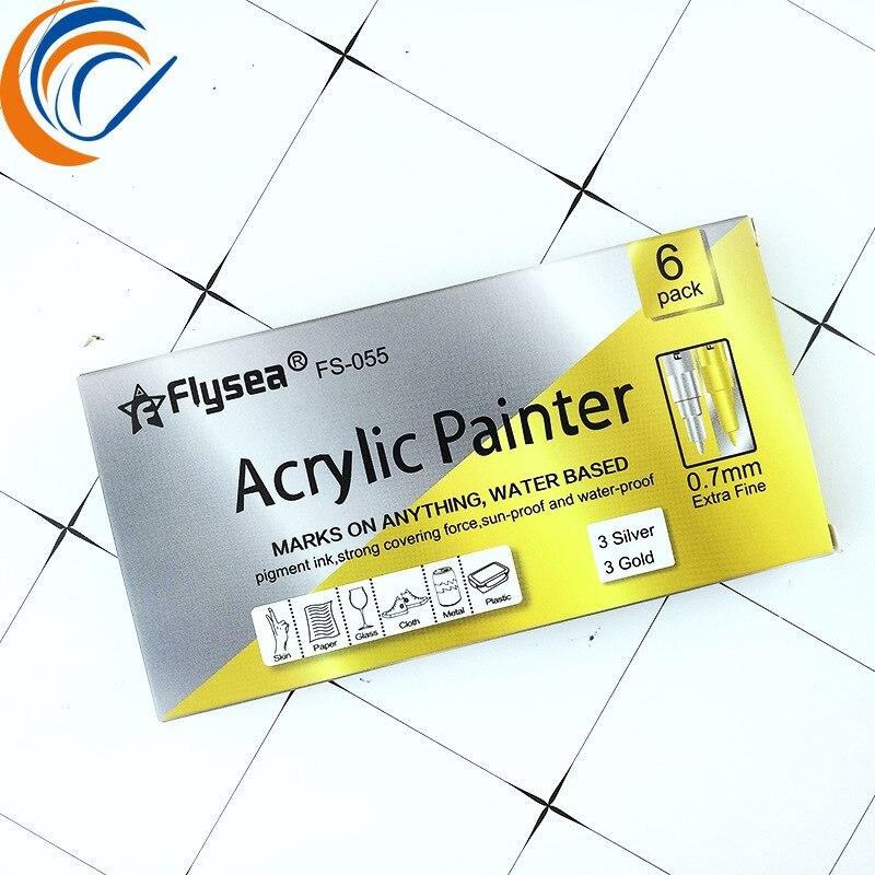 0.7mm Marker Paint Pen 12/15/18/24/28 Colors Per PACK Acrylic Marker PEN Water Color