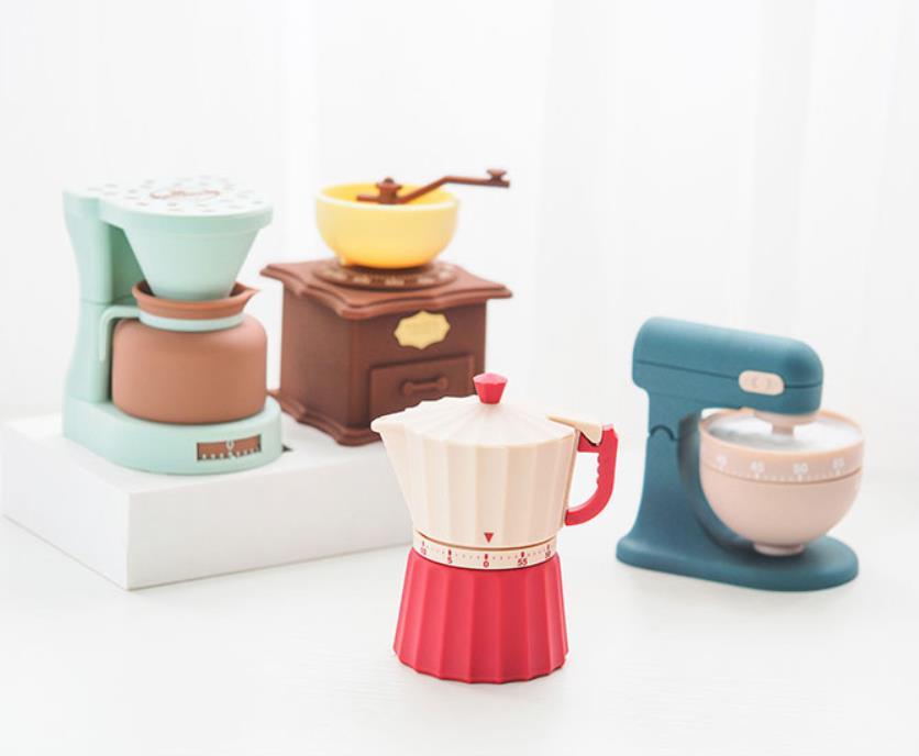 Cartoon Shaped Kitchen Timer Home Kitchen Alarm Clock Countdown Piglet Machinery Electronic Timer Cooking Baking Frying