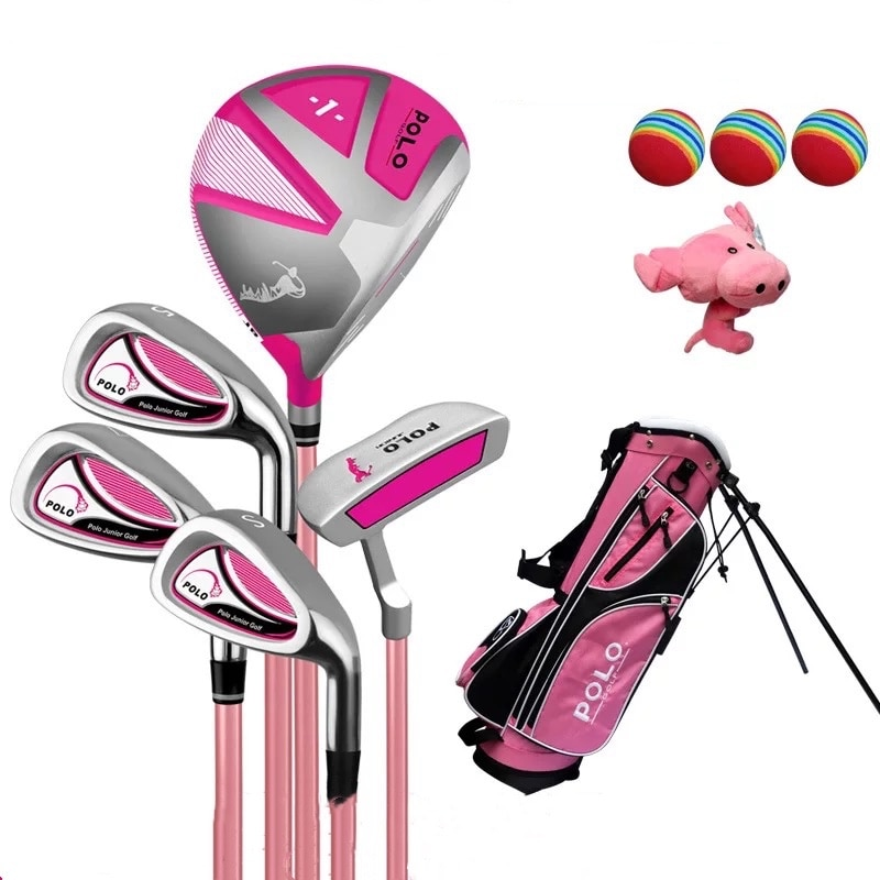 Golf children's clubs full set of carbon practice clubs standard set for beginners