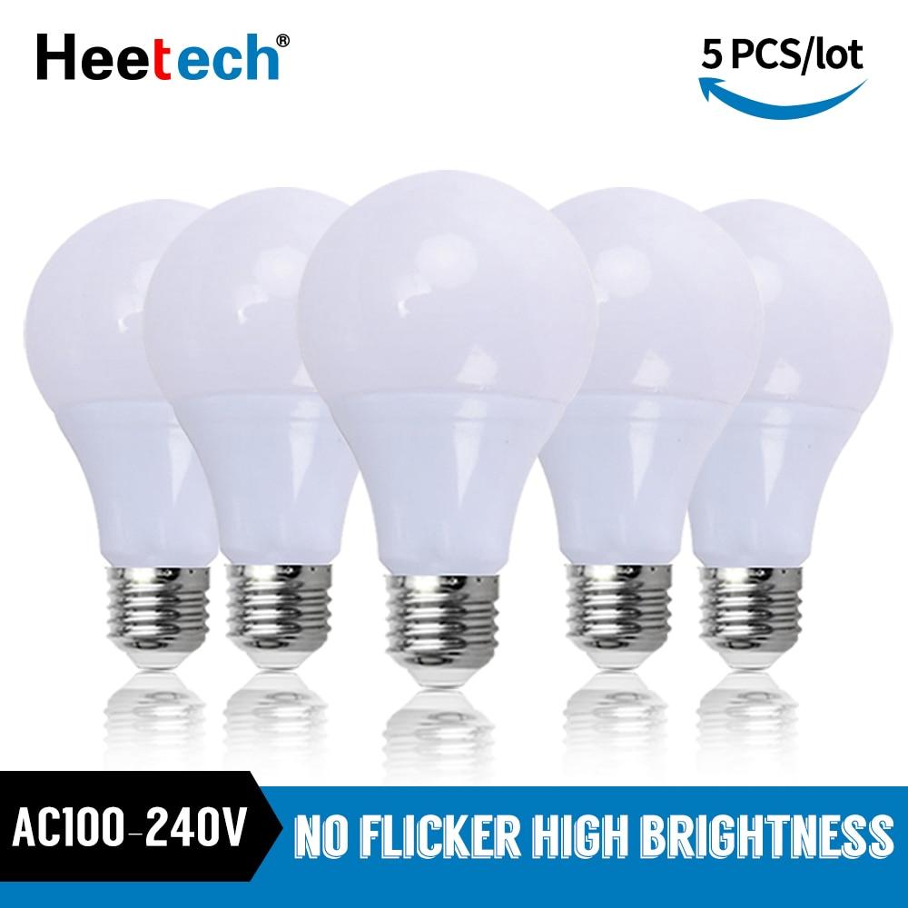 Bombillas LED E27 de 3W, 6W, 9W, 12W, 15W, 18W, 21W, CA...