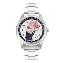 Zero Two Quartz Watch Sport Unisex Wrist Watch Stainless Design Analog Female Wristwatch