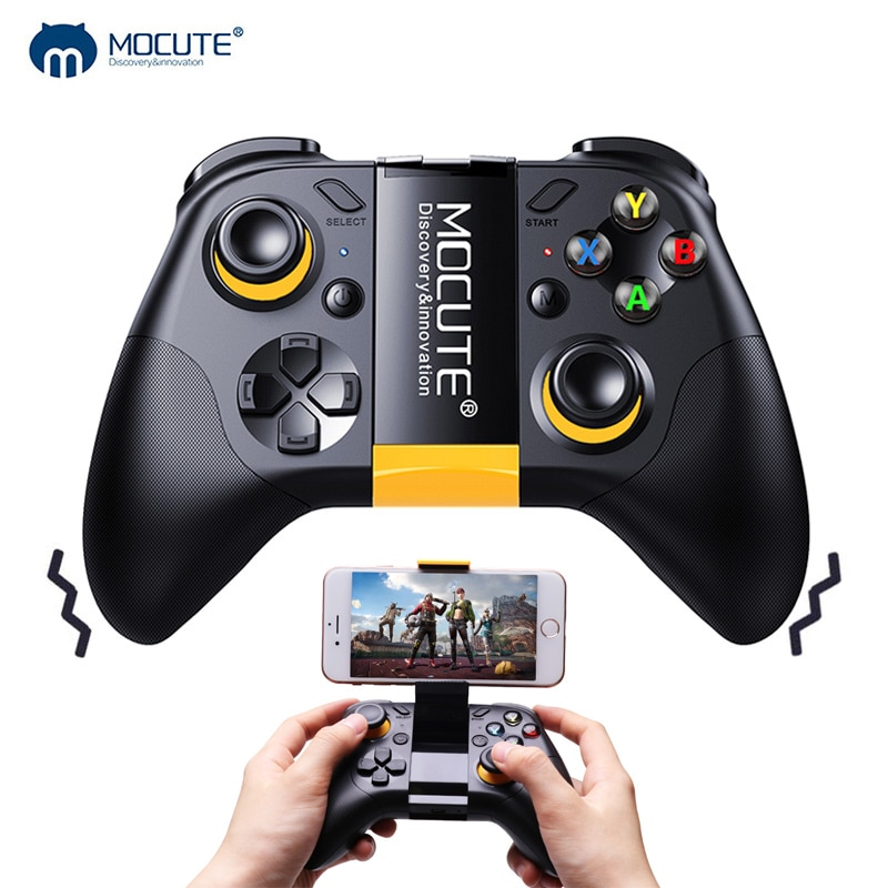 Mocute 054 Upgrade 054MX Smartphone Gamepad Bluetooth Multfunction Wireless Game Controller Joystick for SWITCH IOS Android PC