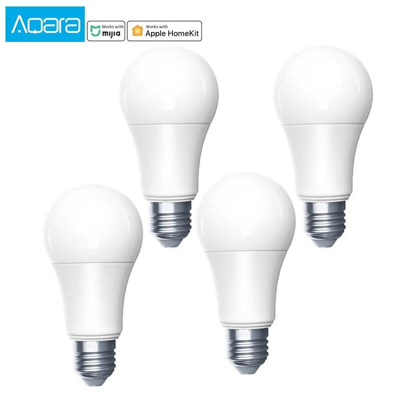 aqara bulb zigbee version work with Smart home app ,and for apple homekit smart LED bulb lamp