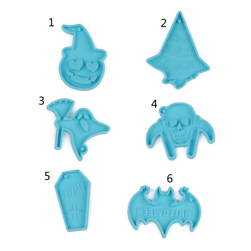 Брелок для Хэллоуина, искусственная бижутерия, подвеска, серьги, ожерелье, литые инструменты