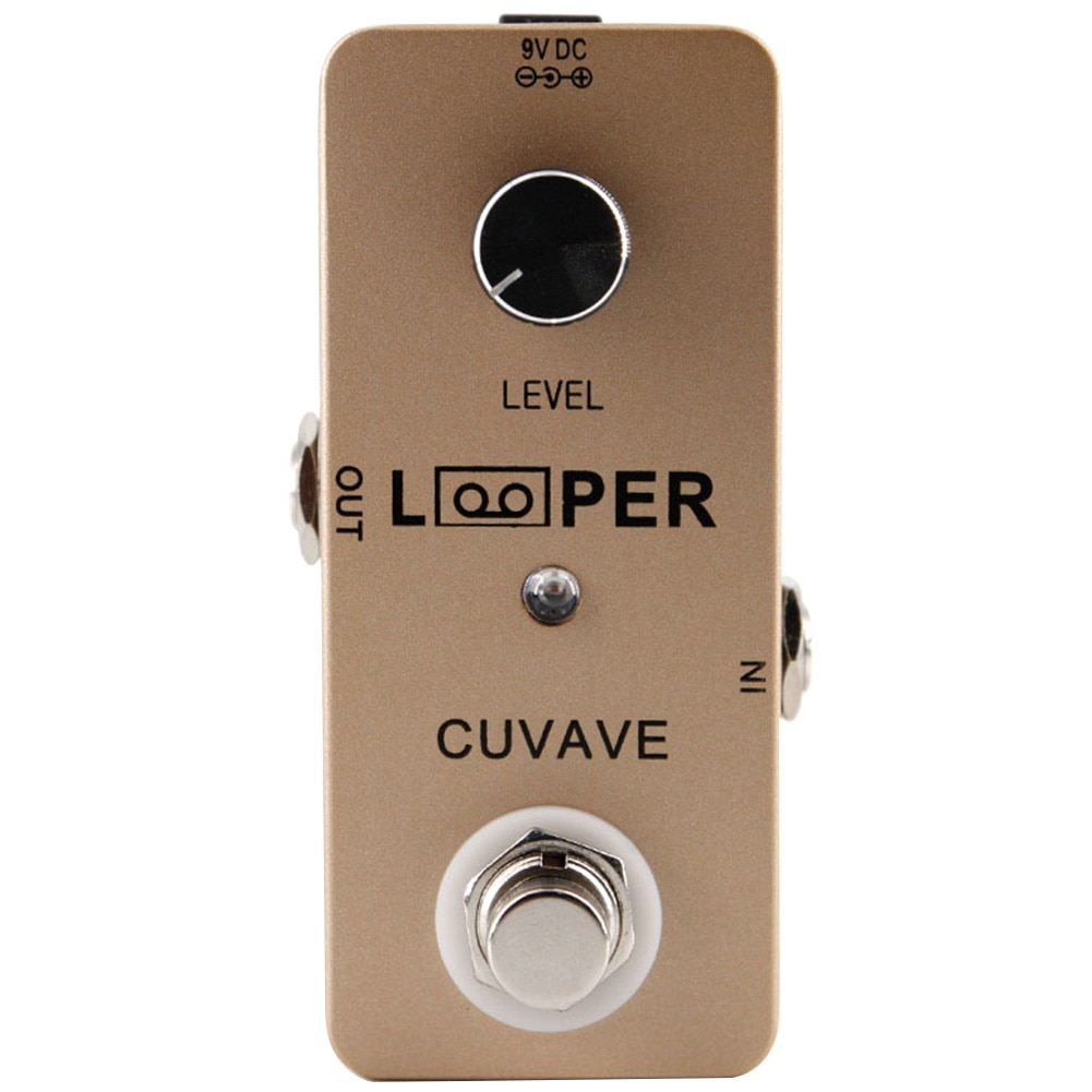 LED Indicator USB Guitar Recording Loop Station Excellent Condition Mini Effect Pendal Zinc Alloy Noise Killer Portable Looper