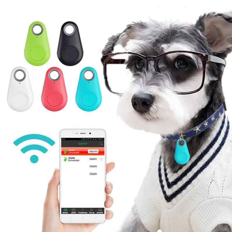 Pets Smart Mini GPS Wireless Tracker Anti-Lost Waterproof Bluetooth Tracer For Pet Dog Cat Bag Kids Trackers Finder Equipment