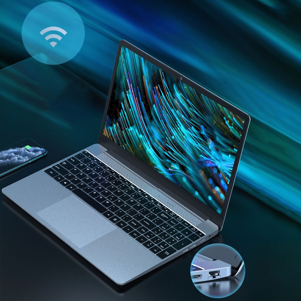 15.6 Inch Gaming Laptop i7 Notebook Gamer Computer Core i7 Pc Portable Windows 10 i7-6700HQ Ultra-thin Durable Laptop
