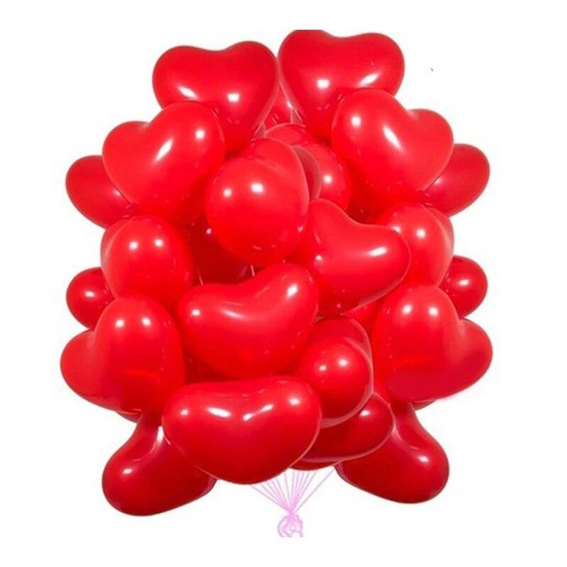 Globos de amor de pulgadas de globos d boda de helio para...