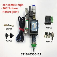 BT1040 SMT cabeza Nema8 eje hueco paso a paso para pick place cabeza SMT DIY montaje conector 5mm boquilla especial junta rotativa