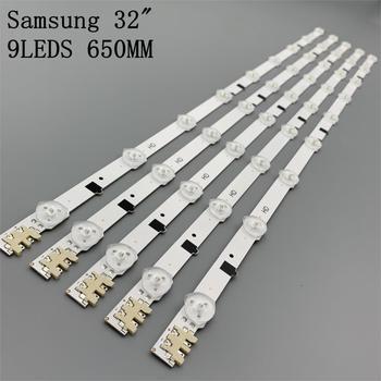Barres LED TV, rétroéclairage, Kit de bande de télévision, 5 bandes d'lentilles, pour Samsung UE32F4000AW UE32F5000AK UE32F5030AW UE32F5300AW UE32F5300AK