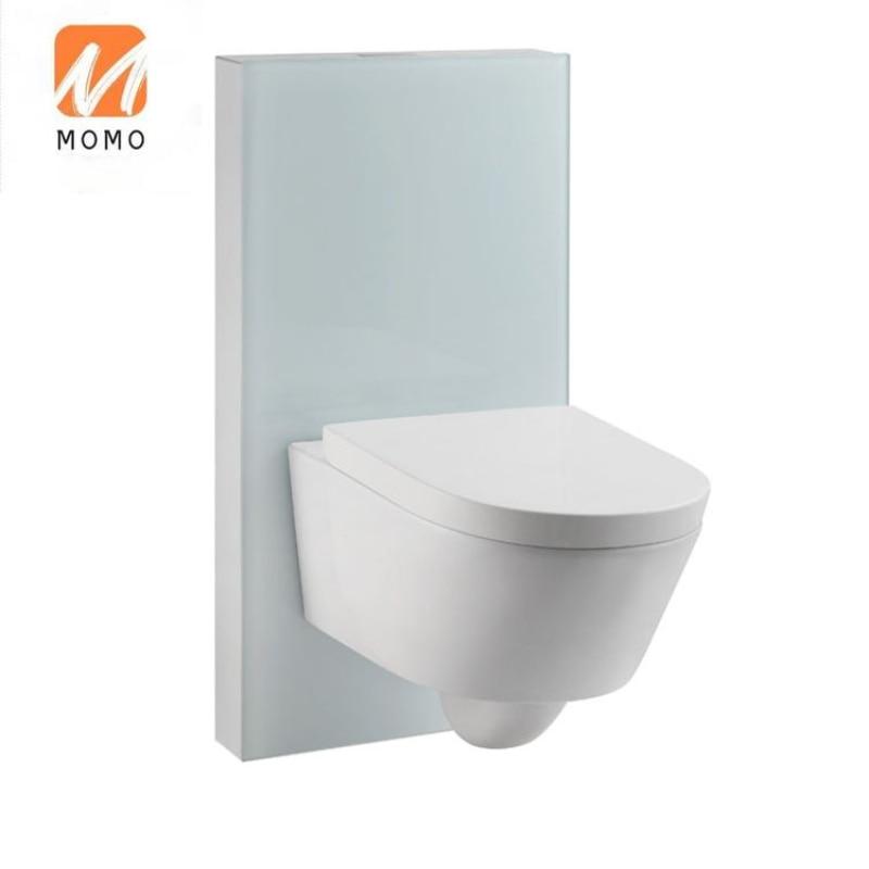 عالية الجودة الاسلوب المناسب الفولاذ المقاوم للصدأ معلق المرحاض خزان المرحاض