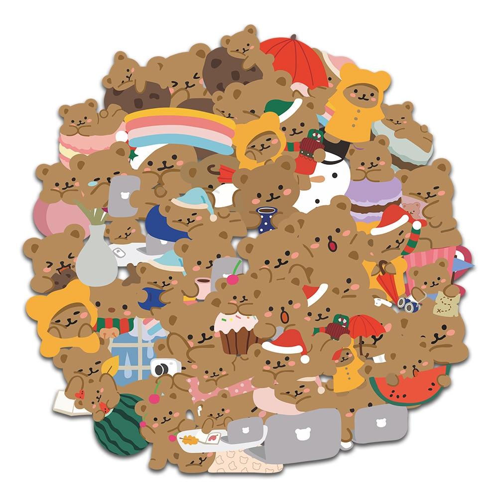 60-pz-set-simpatico-cartone-animato-orsetto-adesivi-conto-mano-per-laptop-telefono-bagagli-decorazione-adesivo-cancelleria-coreana
