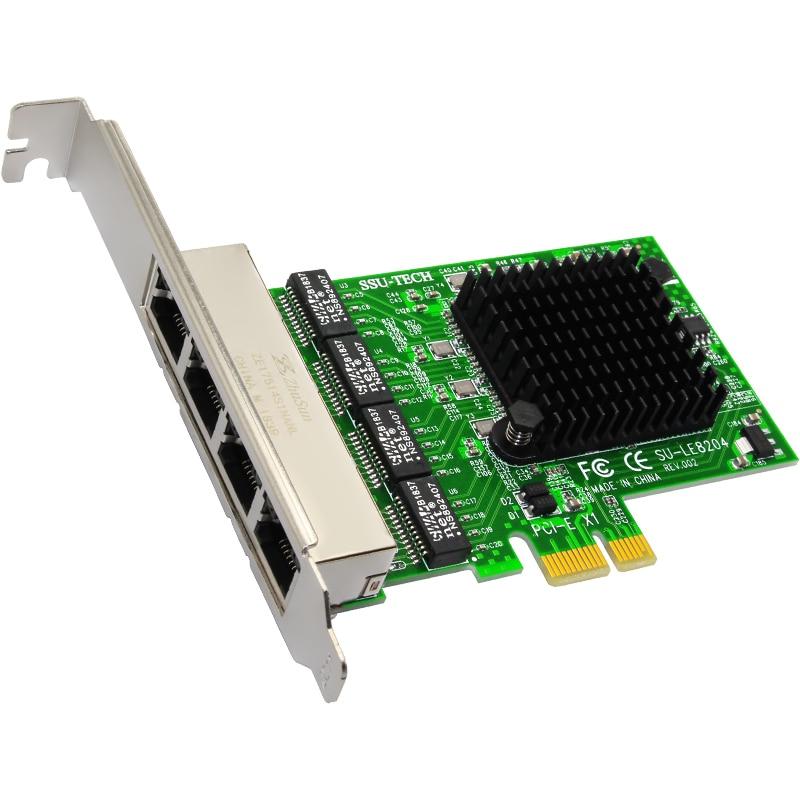 QINDIAN Network Cards Internet Ethernet Adapter/Card LAN PCI-E Network Card/Adapter Realtek RJ-45 PCIE X1 Enternet for Computer