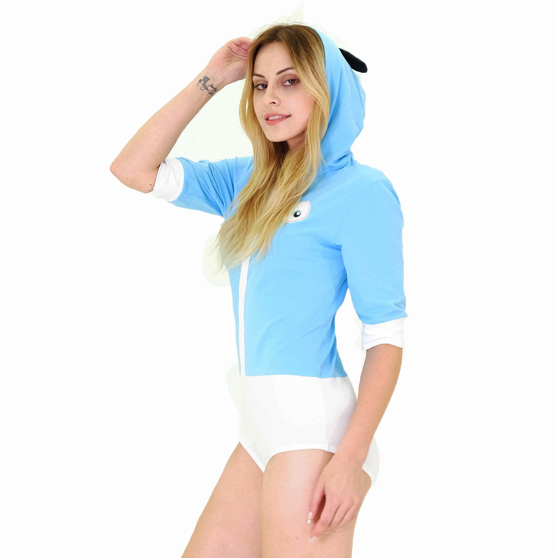 Transformed Adult Onesies Pajamas Cute ABDL Women Pajama Short-sleeved Causal Cotton Romper enlarge