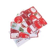 6pcsset stickers round christmas creative sealing sticker cake packaging sealing label sticker
