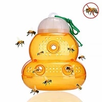 beehive wasp trap hornets spring wasp repellent hornet trap bee catcher home garden wasp killer hornet hanging fly traps