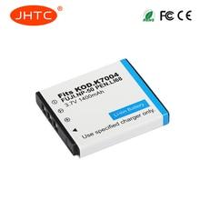 JHTC 1400mAh NP-50 FNP50 NP50 KLIC-7004 KLIC-7004 K7004 D-Li68 Batterie Pour Appareil Photo Fujifilm X10 X20 XF1 F50 F75