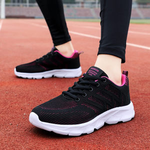Spring The New Women's Sports Shoes Breathable Mesh Casual Shoes Super Light Running Shoes Fitness Shoes Zapatos De Mujer 35-42