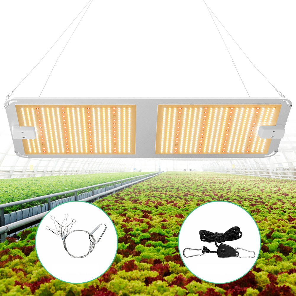 LED Plant Light Fill Light High Power Plant Light Greenhouse Plant Brand New 1000W Dual Control Growth Light Indoor Plant enlarge