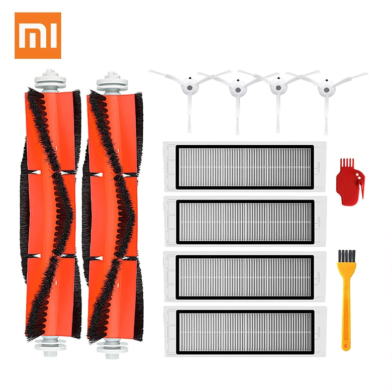 Vacuum Cleaners Parts Accessories Kits for xiaomi MI Robot Replacement Vacuum Parts Main Brush Filter Side Brush Blide Comb
