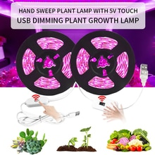 LED Grow Light Full Spectrum USB Grow Strip Light 0.5m 1m 2m 3m  DC5V LED Phyto Lamps For Plants Flowers Hydroponic Greenhouses