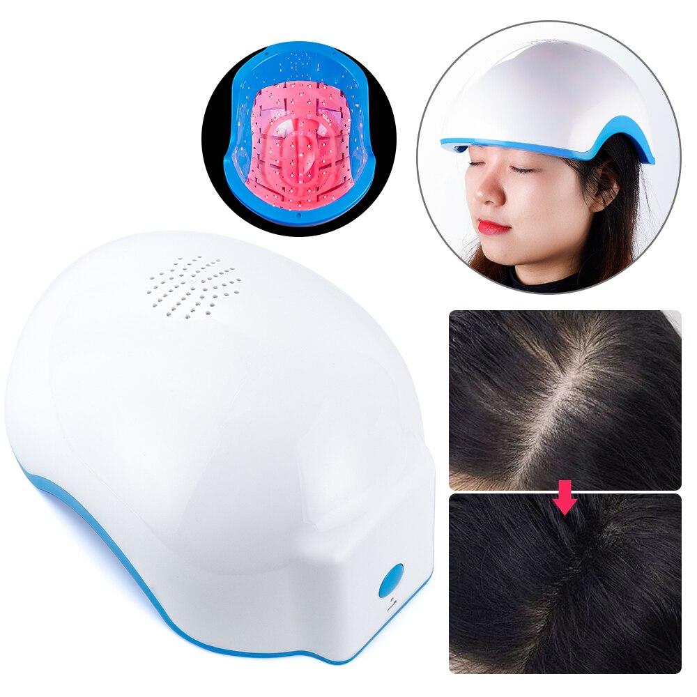 678nm العلاج بالليزر نمو الشعر خوذة مكافحة فقدان الشعر جهاز علاج مكافحة فقدان الشعر تعزيز نمو الشعر قبعة التدليك