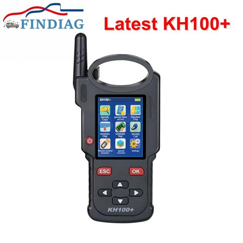 2021 Latest LONSDOR KH100+ Handheld Device Remote Car Key Programmer Handheld Used For Identify Chip