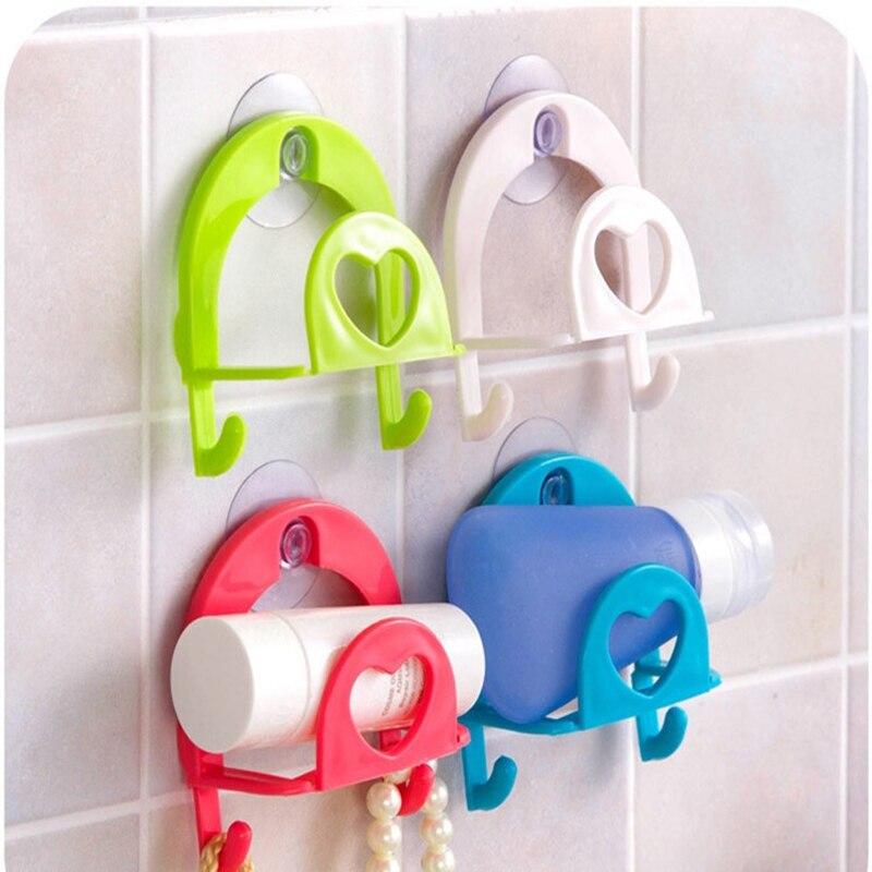 Самоклеящиеся дверные настенные вешалки, крючки на присоске, аксессуары для кухни и ванной комнаты, подвесное полотенце для хранения, набор...