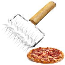 1 PC plastique Pizza coupeurs roues outils pâtisserie pâte rouleau cuisson tarte Docker cuisine accessoires pour noël fête danniversaire