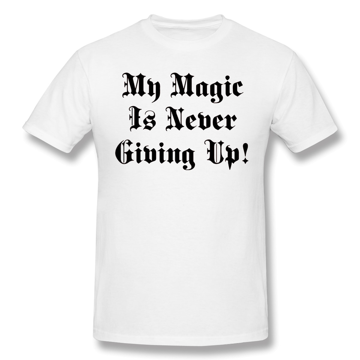 Nueva camiseta de verano, camiseta Astas Catch Phrase, camiseta negra de algodón con trébol de ofertas