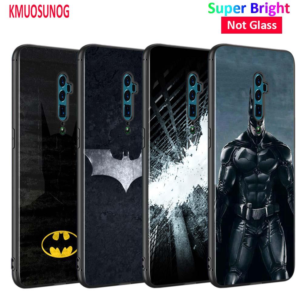 Schwarz Abdeckung Marvel Batman Avengers für OPPO Reno Z 10X Zoom F11 F9 F7 F5 A7 R9S R17 Realme 2 c2 K3 Pro Telefon Fall