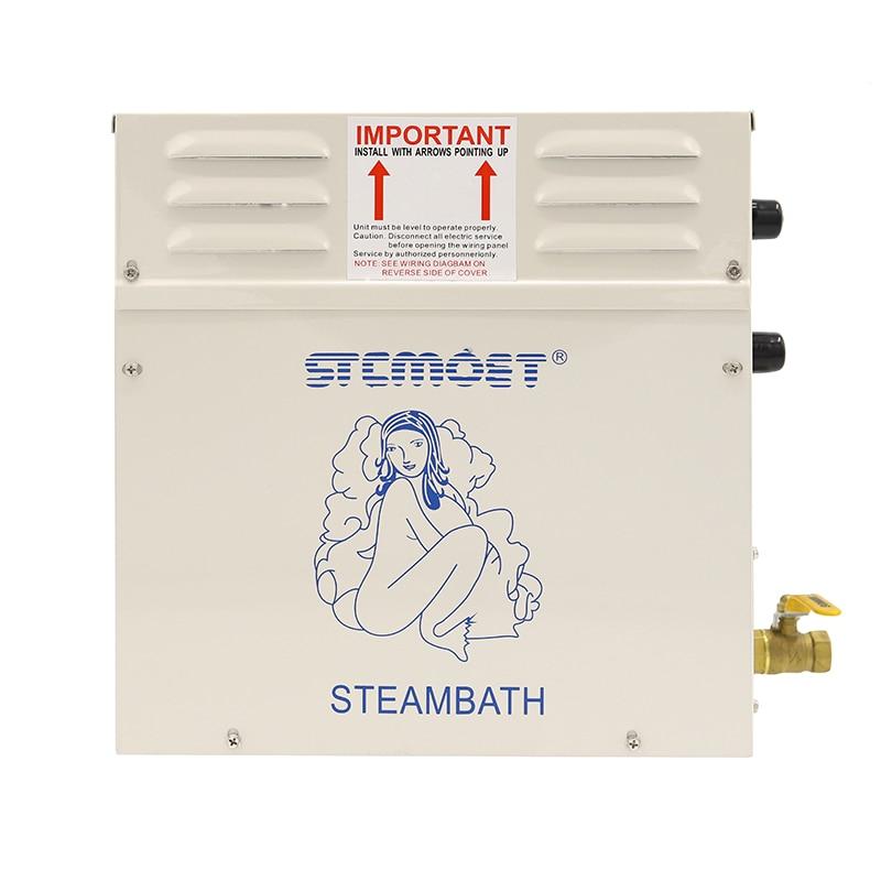 4.5KW 220 فولت 380 فولت الرطب ساونا غرفة مولد حمام بخار المنزلية تبخير ساونا غرفة البخار آلة حمّام سباروم بخار حمام ST-45