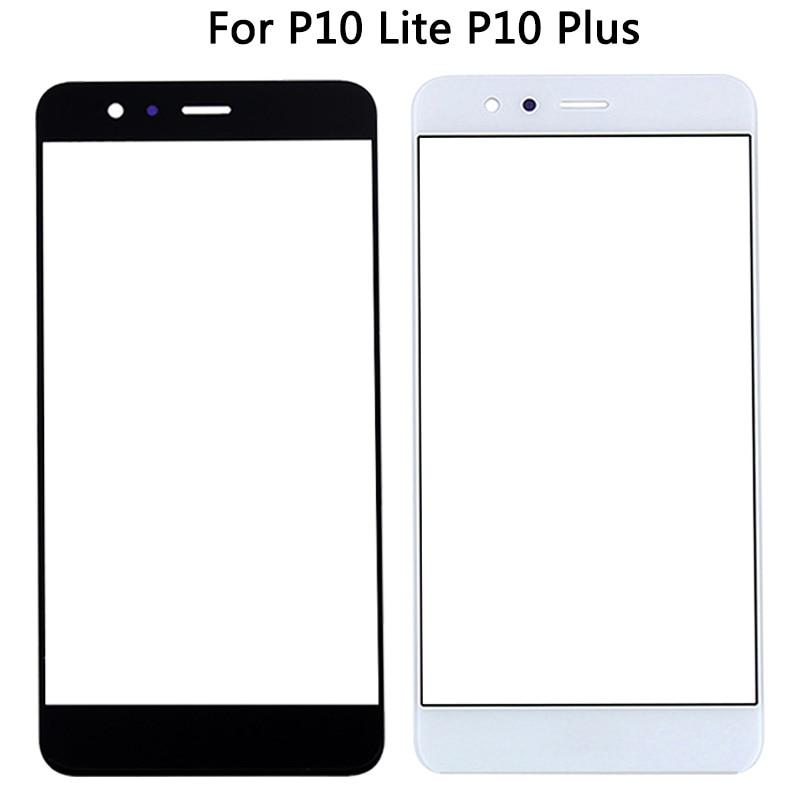 Para Huawei Ascend P10 Plus / P10 lite Nova Lite LCD Lente de Cristal frontal de pantalla exterior para Panel táctil de reemplazo P 10 Lite