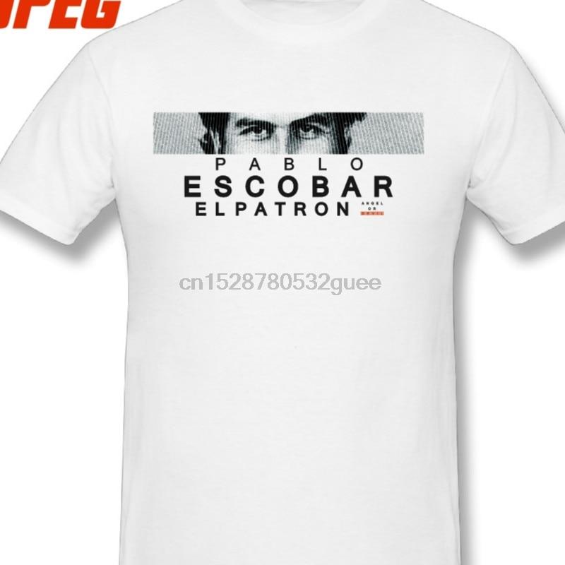 T Hemd Pablo Escobar El Patron T Hemd Unkraut Mafia Scareface Luciano Kapaun Tees Teenager Baumwolle Kurzarm Große Größe