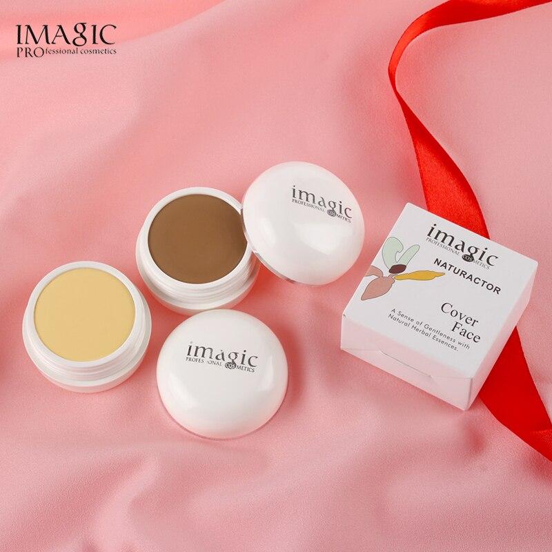 Corrector IMAGIC de 10 colores, base de maquillaje, crema, base líquida correctora, corrector duradero de control de aceite