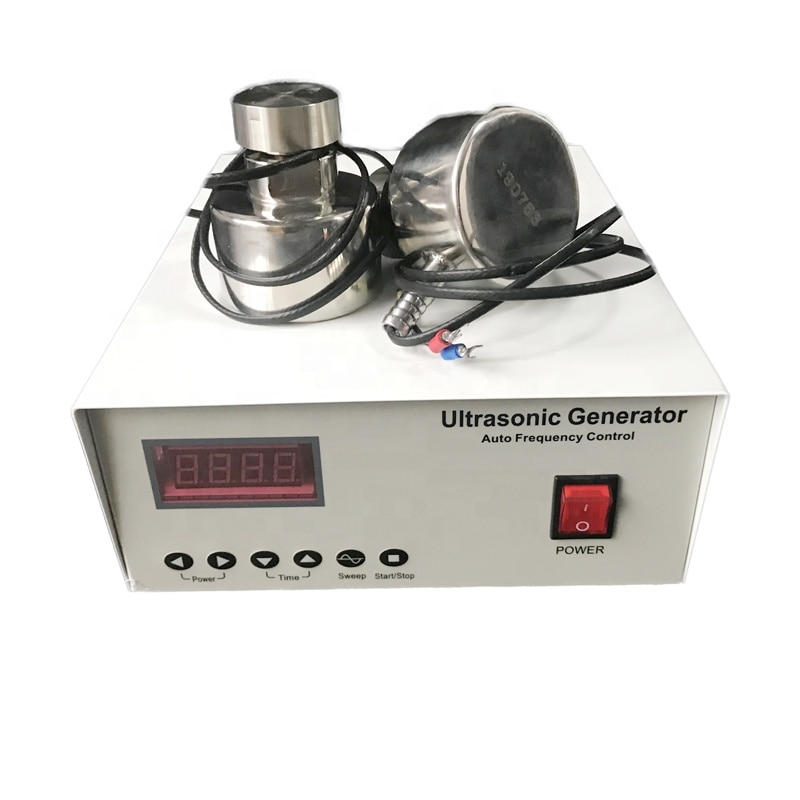 Sensor ultrasónico de la pantalla de la vibración del acero inoxidable 33KHz transductor ultrasónico de la vibración para la limpieza
