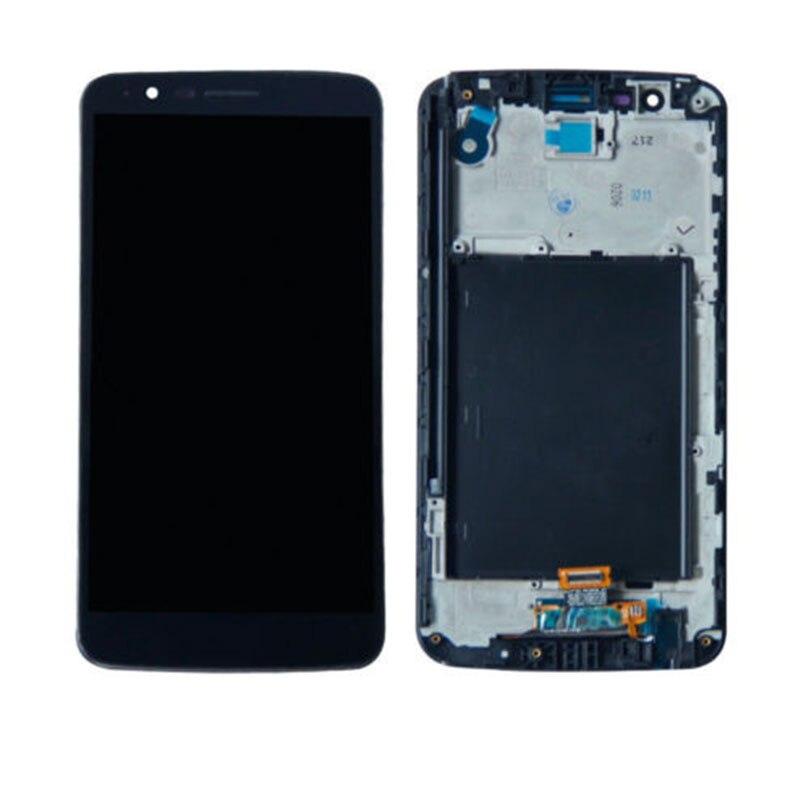 100% probado de alta calidad para LG Stylo 3 K10 Pro M400 LS777 pantalla LCD Digitalizador de pantalla táctil negro No/con marco