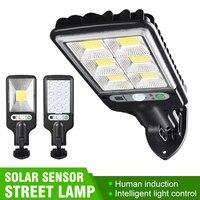 Настенный светильник, светодиодный с питанием от солнечной батареи и датчиком движения
