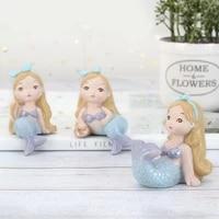 Menage decoratif mignon belle Figurines Miniatures pour la maison chambre denfant filles cadeau gateau Topper decorations artisanat doux
