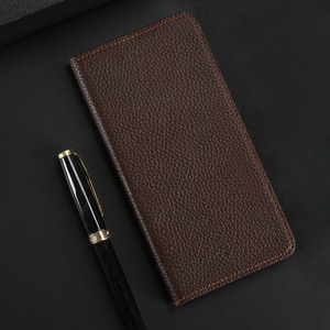 Leather Phone Case For Homtom HT 7 16 17 30 37 50 70 Pro Case Wallet Cowhide Cover