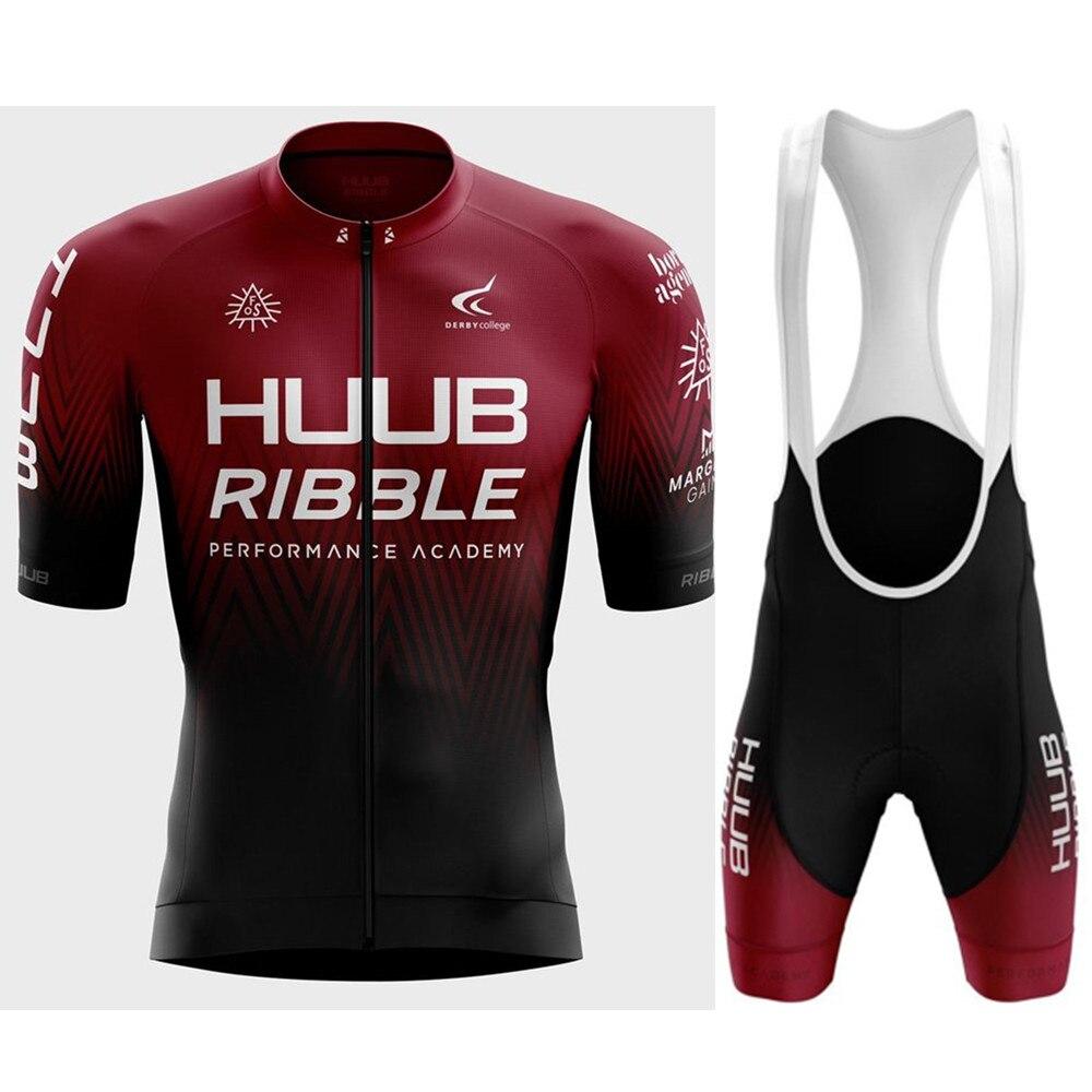 HUUB-Conjunto de ropa de ciclismo profesional para hombre, maillot a prueba de...