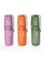portable dog water bottle foldable dog water dispenser pet drinking feeder leak proof bpa free for dogs walking travel outdoor