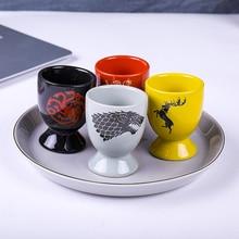 4 Pices Wolf En Dragon Koffie Mokken Keramische Thee Kopjes En Mokken Creative Glas Likeur Drinkware