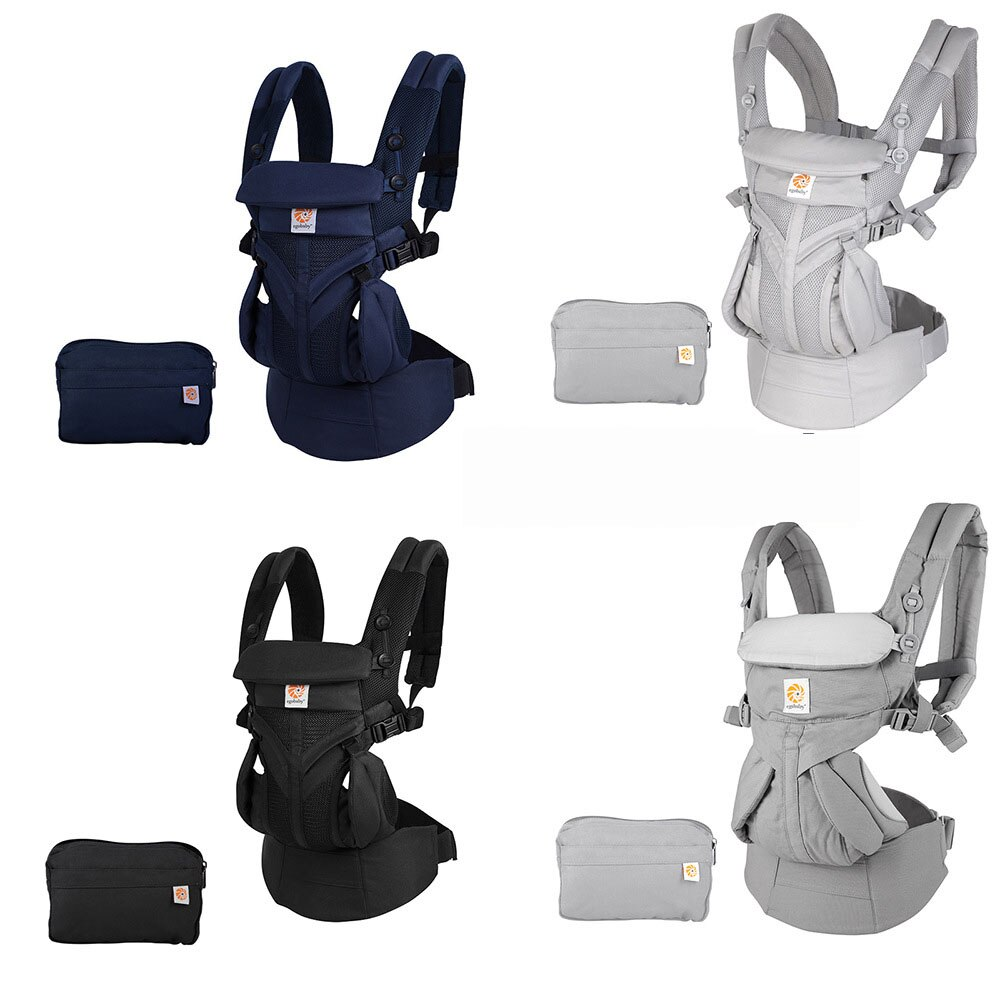 Ergonomic Baby Carrier Baby Kangaroo Child Hip Seat Tool Baby Holder Sling Wrap Backpacks Baby Travel Activity Gear