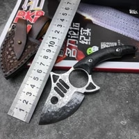 hunting straight knife tactical knife fixed knife survival knife camping rescue knife tool folding knife damascus knife
